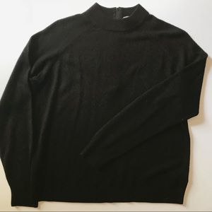 Classic Mock Neck Sweater